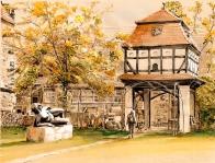 Taubenhaus auf Burg Giebichenstein Claudia Meinicke