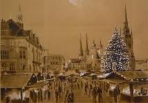 Weihnachtsmarkt Halle Claudia Meinicke