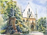 Mendelsohndenkmal Leipzig Claudia Meinicke