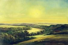 Abendlicht an der Saale in der Franzigmark Steffen Gröbner