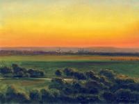 Blick auf Naumburg im Abendlicht Steffen Gröbner