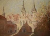 Merseburg Domplatz Peter Loose
