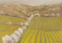 Frühling in den Weinbergen Peter Loose