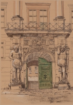 Portal Riesenhaus in Halle Claudia Meinicke