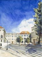 Universitätsplatz Halle Claudia Meinicke