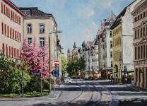 Gohliser Straße im Frühling Andreas Liebold