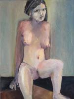 Junge Frau Akt Ernst-Ulrich Jacobi