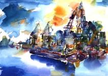 Hafen Magdeburg II Karl Heinz Köhler