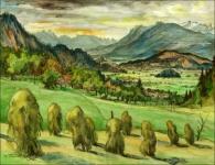 Säntisgruppe und Montafon Vorarlberg Karl Timmler