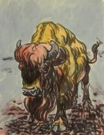 Alter Büffel Erich Fraaß