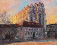 letzte Sonnenstrahlen am Dom zu Halle aNDREAS lIEBOLD