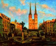 Abendsonne am Hallmarkt Andreas Liebold